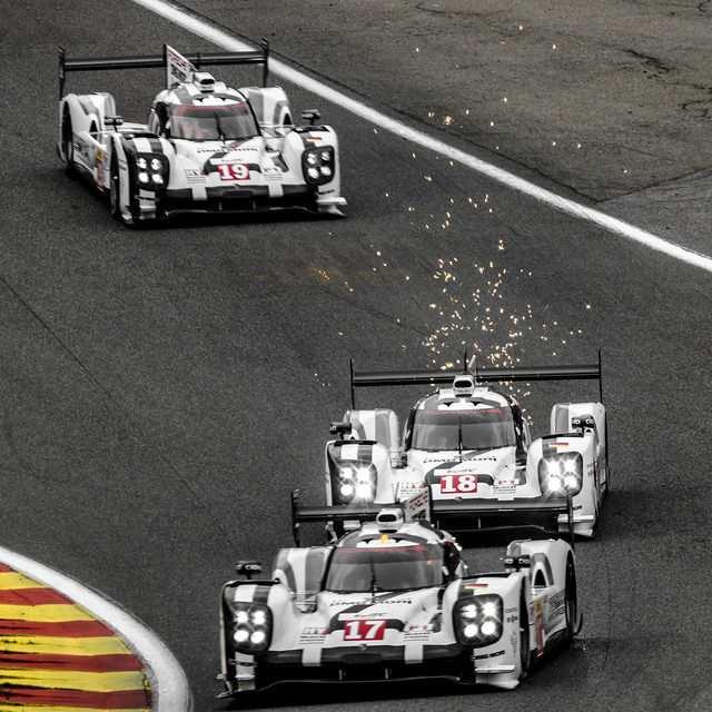 LMP1 Porsche / by Tobias Van Der Elst is licensed under CC BY-SA 2.0