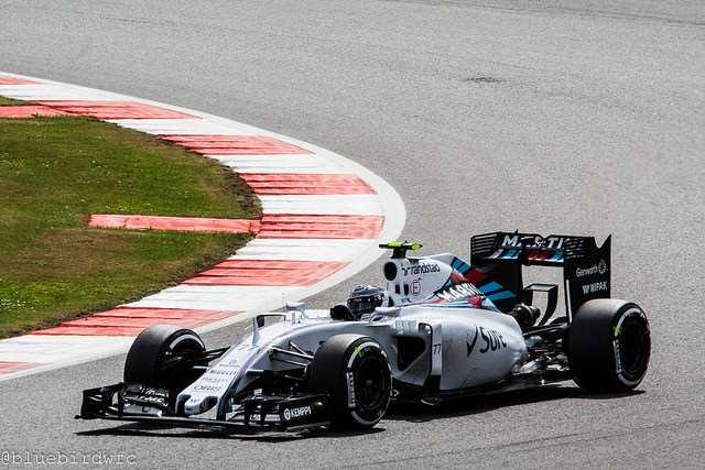Valtteri Bottas at the British Grand Prix / photo taken by Franziska is licensed under CC BY 2.0