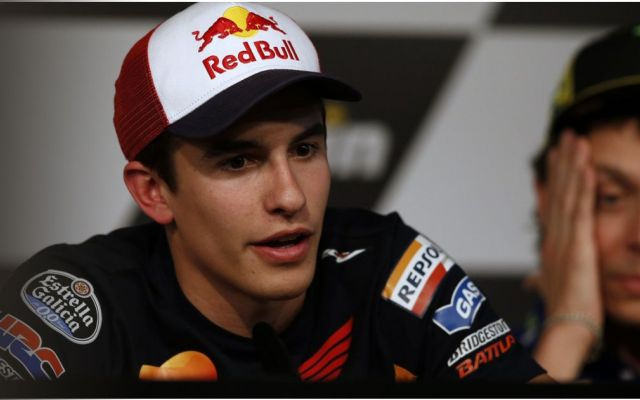 Marquez in Press Conference