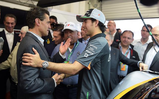 Perez meeting the President